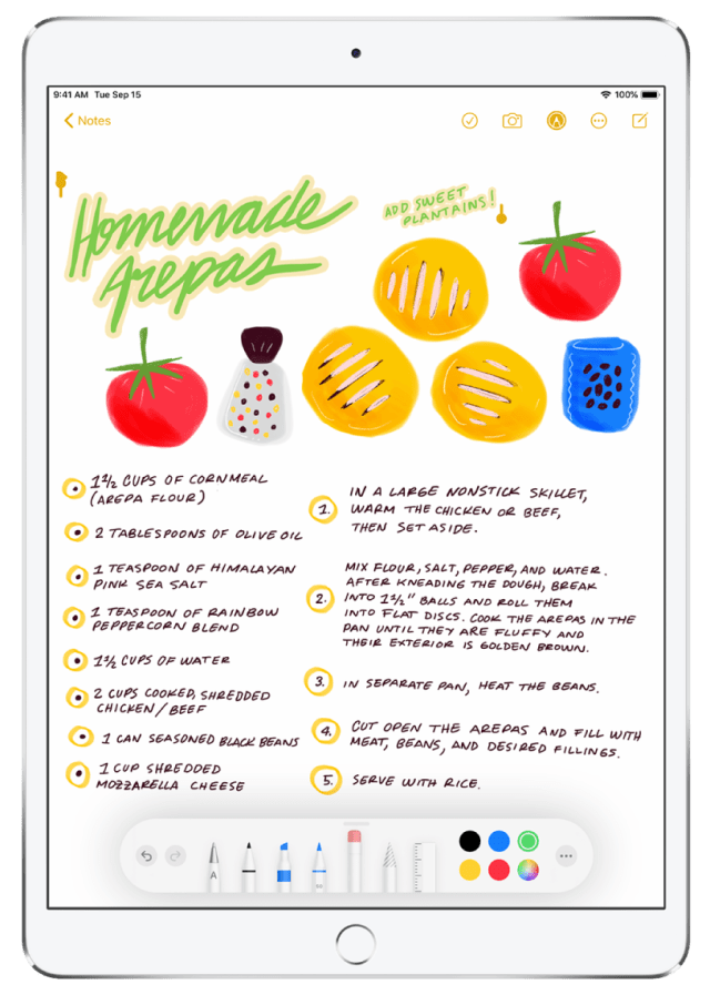 Use Apple Pencil with Notes - Apple Support