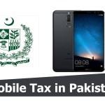 Huawei Mate 10 Lite 2019 Mobile tax in Pakistan Custom Duty Pakistan