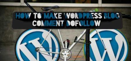WordPress Blog Comment Dofollow