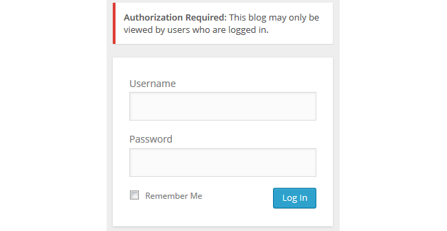 Logged in users only