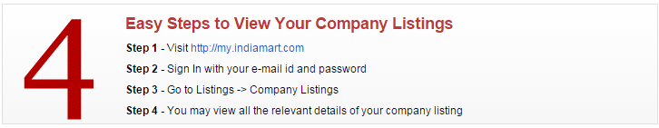 Company Listing