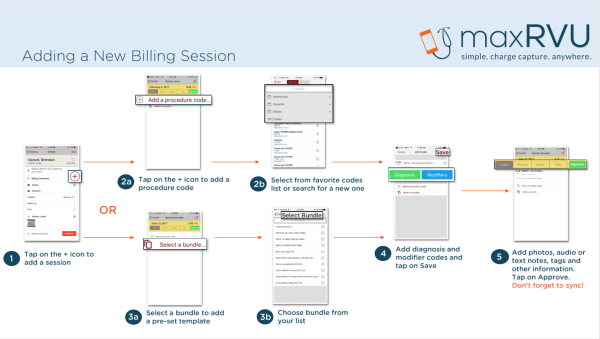 Adding a billing session