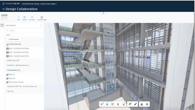 screenshot of autodesk bim 360