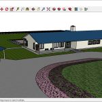 Adding Colors And Textures With Materials Sketchup Help