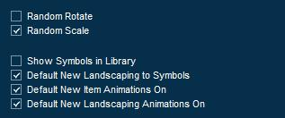 Pool Studio Library Panel Item Options