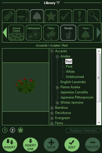 VizTerra Library Panel Outline View