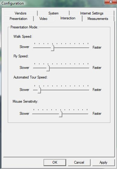 Pool Studio Changing Movement in the Configuration Menu