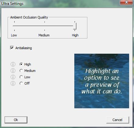 Pool Studio Configuration Ultra Settings