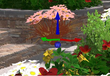 Pool Studio Landscaping Moving Plants and Trees in 3D