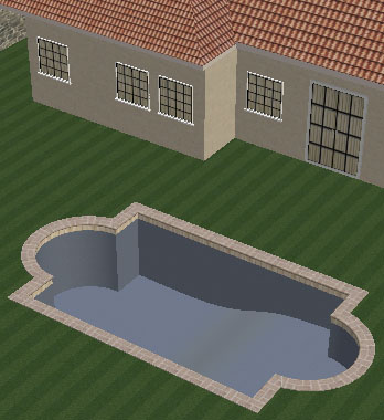 Pool Studio Tutorial Step 6 Pool Shapes 3D Preview