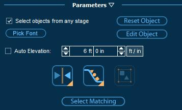 Pool Studios Custom Shapes Parameters for Editing Rotated Objects