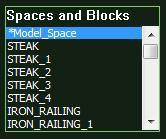 VizTerra AutoCAD Spaces and Blocks