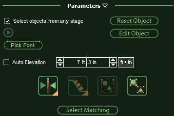 VizTerra Custom Shapes Parameters for Editing Rotated Objects