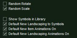 VizTerra Library Item Options