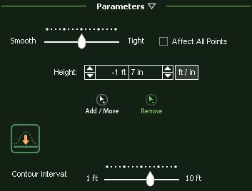VizTerra Terrain 2D Parameters