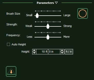 VizTerra Terrain Parameters