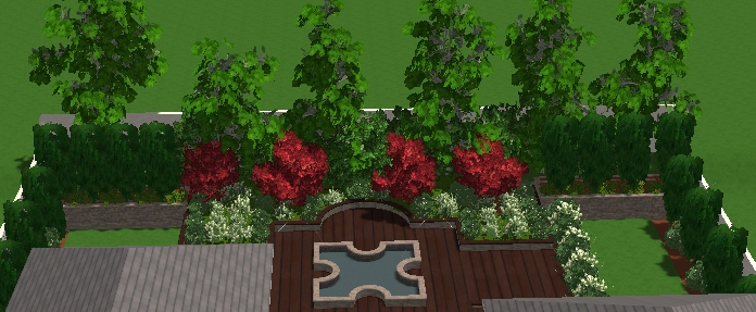 VizTerra Tutorial Step 12 Plants and Trees Complete in 3D