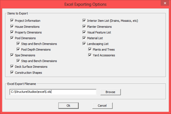 Exporting Excel Spreadsheet PS