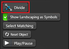 Object Tab Divide
