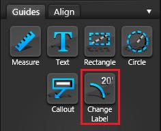 VIP Guides Change Label