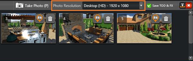 VT Photo Mode Resolution