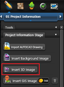 Insert 3D Image