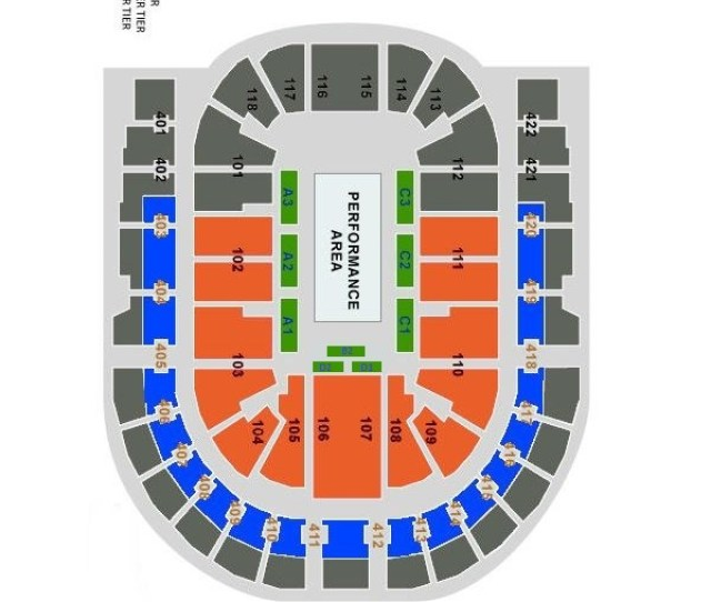 Do You Have A Seating Plan For The O2 Arena