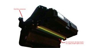 Instructions Are For The Konica Magicolor 1600w Drum Reset Tm Toner Help