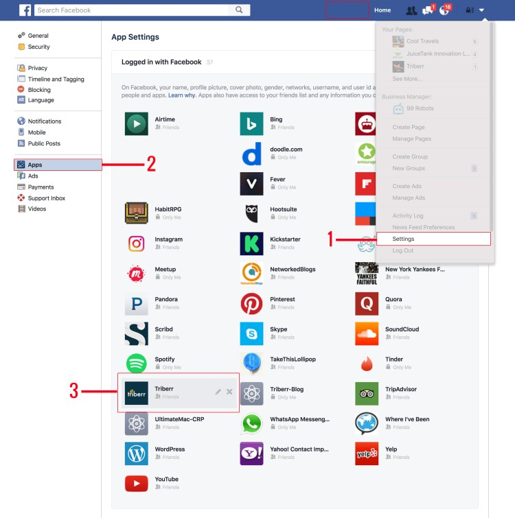How to Connect Facebook Account / Reauthenticate Facebook