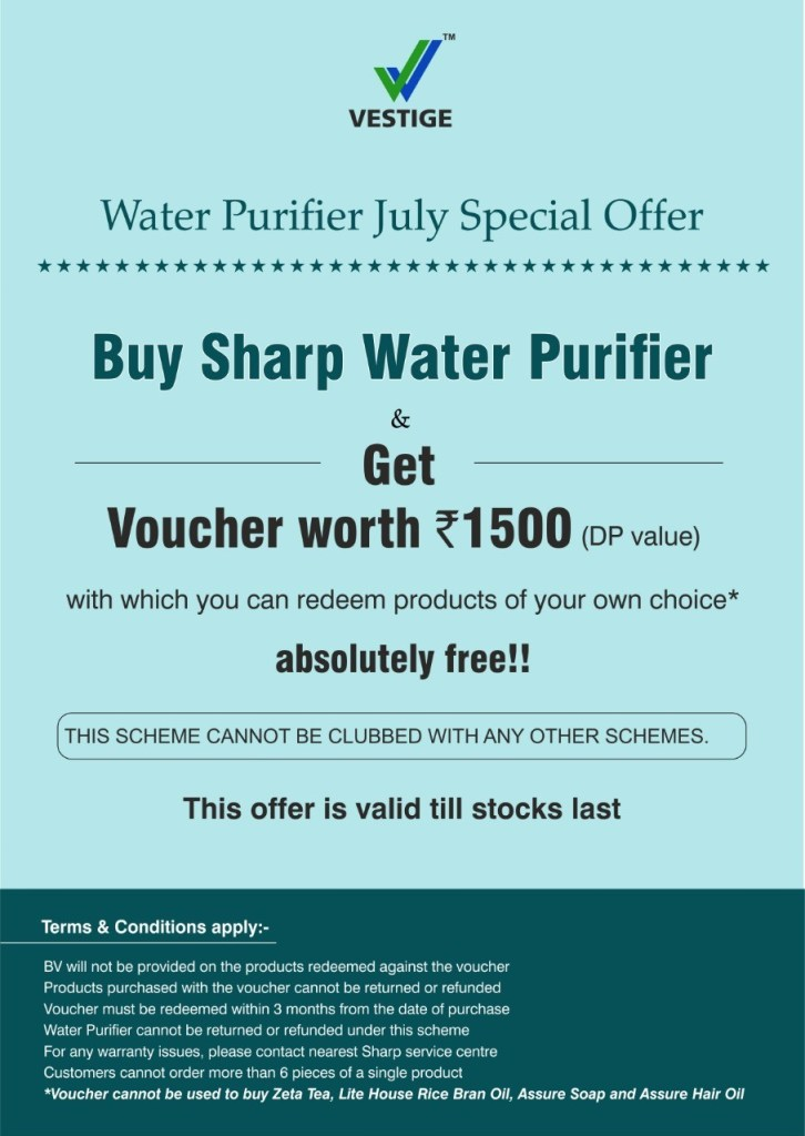 Vestige offer july 2019