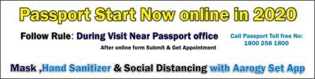 Passport online Now 2020