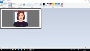 如何在计算机上剪一张照片