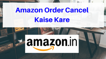 Amazon Order Cancel