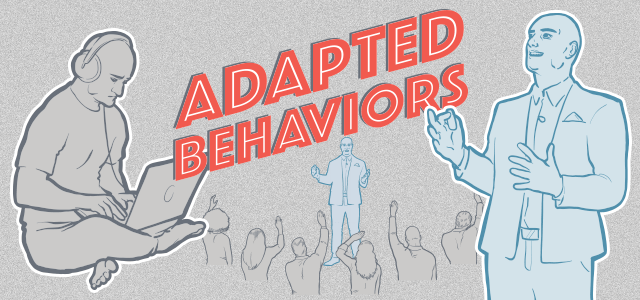 What are adapted behaviors? [Infographic]