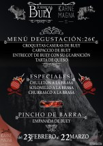 "Cartel para Karne Magna - ""I Jornadas del Buey"""