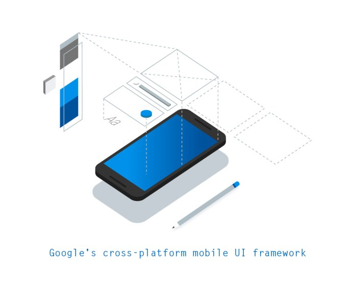 Flutter: Google's cross-platform mobile UI framework