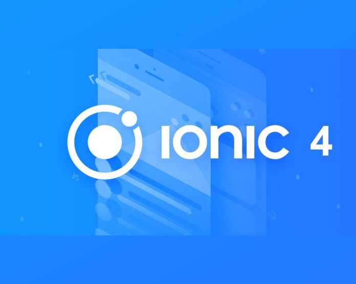 Release of Ionic 4