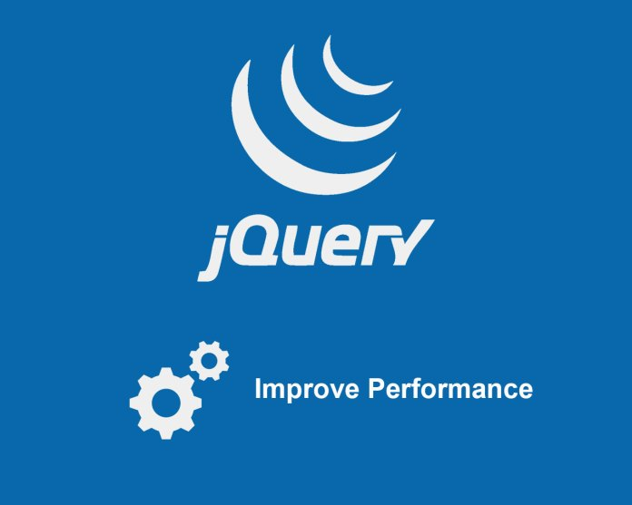 Tips to improve jQuery performance for websites