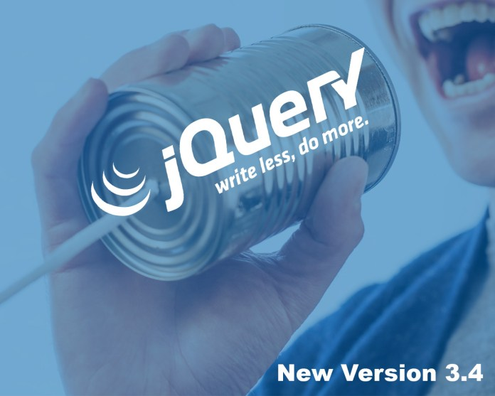 jQuery 3.4 is here: On the way to v4