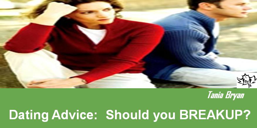 Dating advice breakup