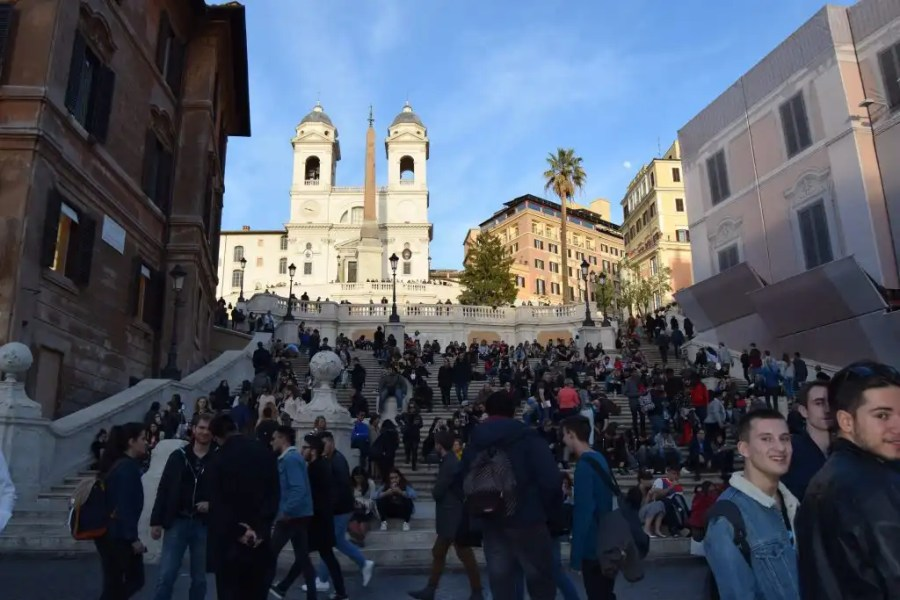 3 Days in Rome - Spanish Steps