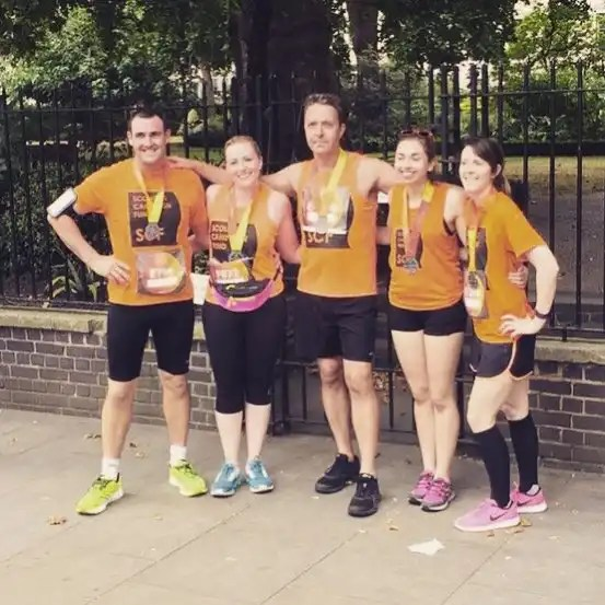 British 10K - Team Scoliosis Campaign Fund