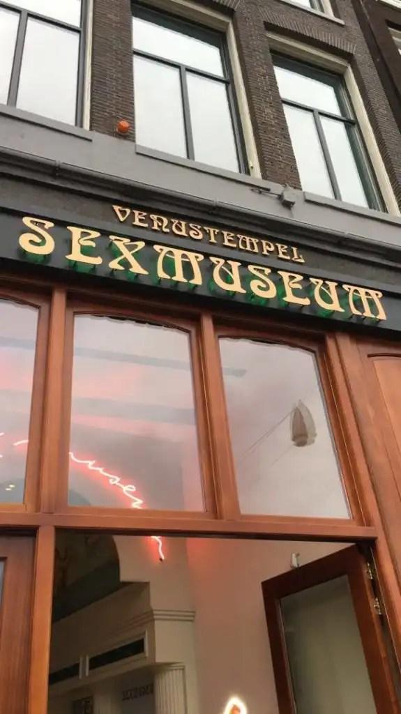 4 days in amsterdam - sex museum