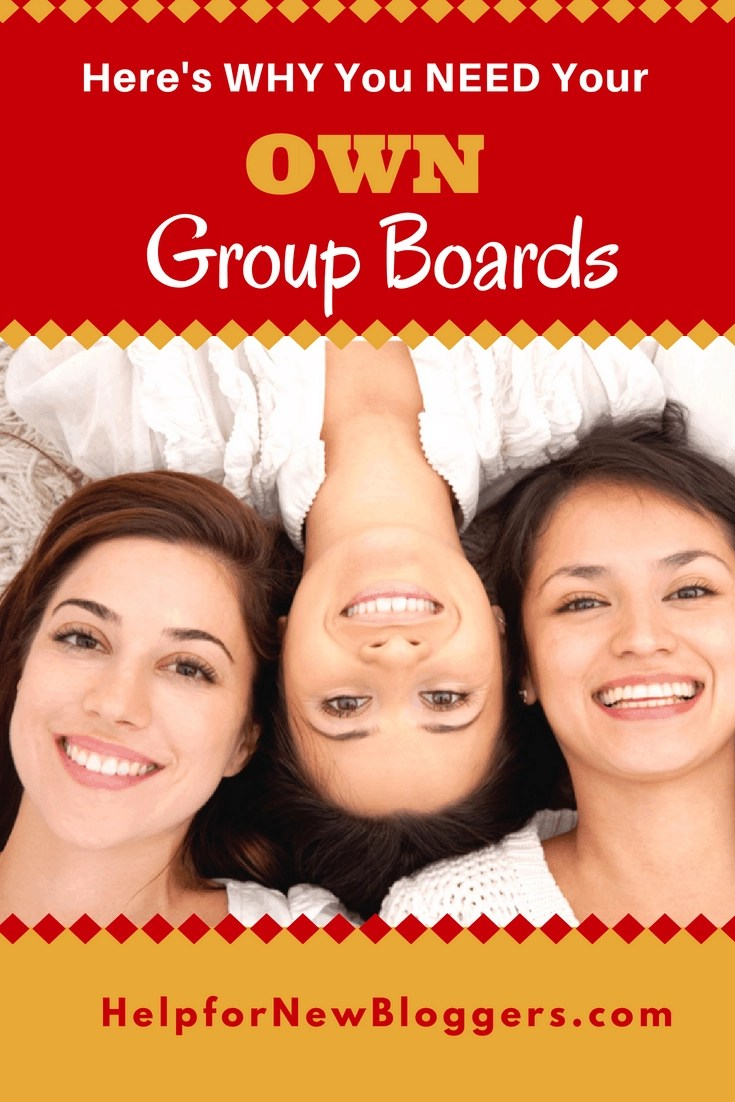Joining other people's group boards on Pinterest is very important.  But a much BETTER strategy is to create your OWN group boards. I've got about a dozen very successful group boards and I leverage them to create success for myself in several different ways. These are a lot of helpful tips to set up your own.