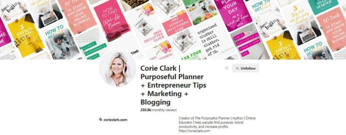 Corie Clark group boards