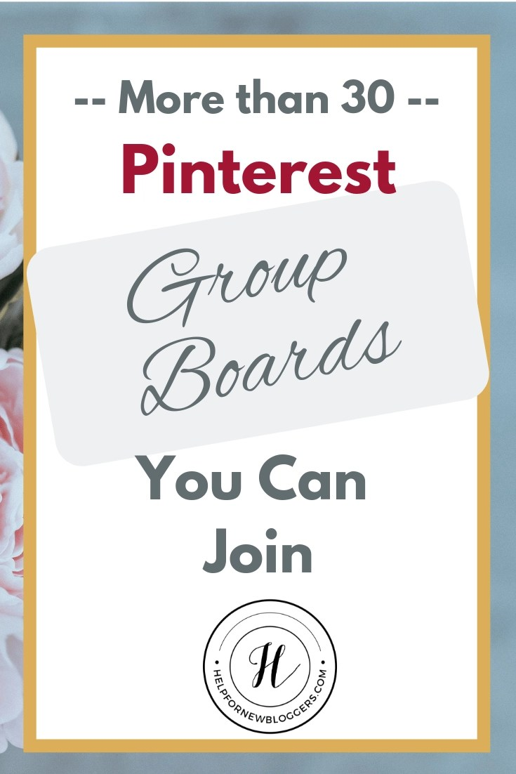 Looking for well-maintained Pinterest group boards you can join  I've got more than 30 of them - all different niches.  #pinterest #groupboards #allniches #parenting #money #disney #travel #socialmedia