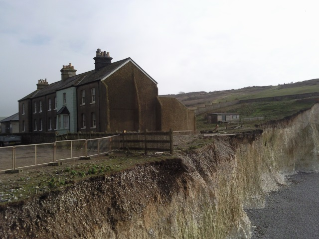 Houses at Birling Gap