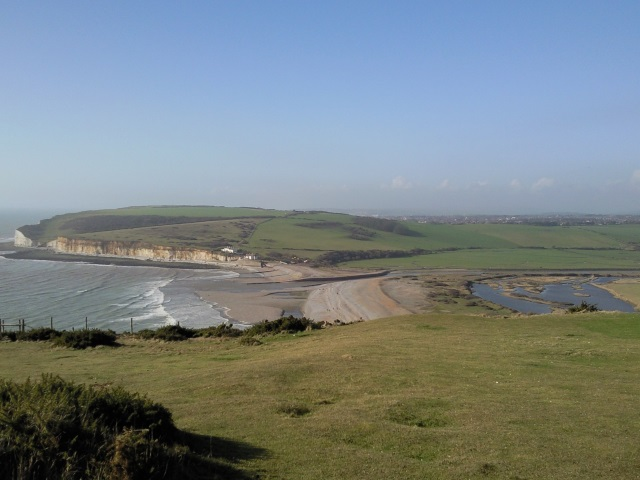 Cuckmere Haven from Haven Brow