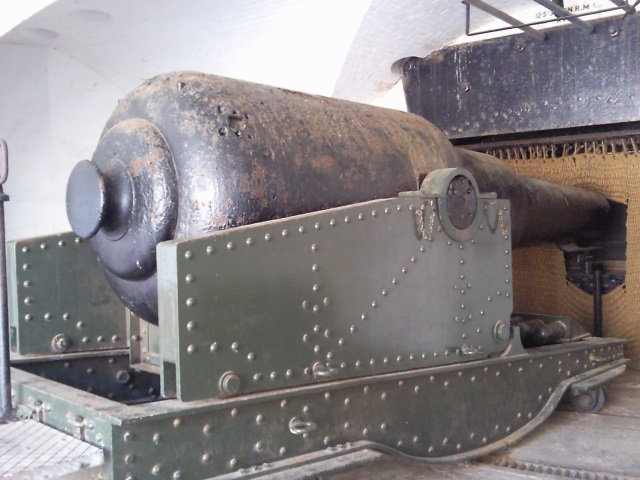 a 38-ton gun from the 1870s