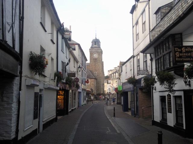 A street in East Looe